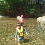 キャンプ&大芦川で川遊び